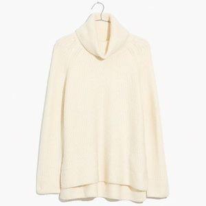 Madewell Cream Coziest Yarn Sweater - Mercer Style